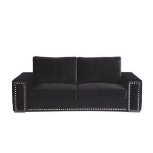 Sofá de 3 plazas tachuelas