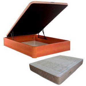 Pack Canapé abatible más colchón 105x190cm